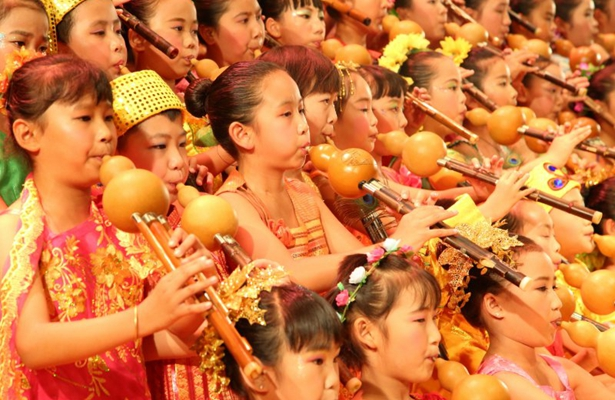 Cucurbit-flute festival and contest to start in west Yunnan's Lianghe