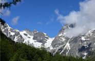 Breath-taking sight of the Baima Snow Mountain in Deqin