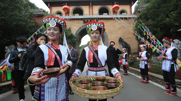 In pics: Happy life of the Keyi villagers in south Yunnan's Mile