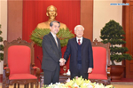 Vietnam-China friendship contributes to world peace, development: Nguyen Phu Trong