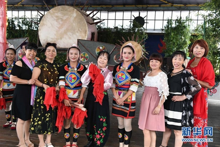 Drum dance injects vitality into development of Yunnan's Jino villages