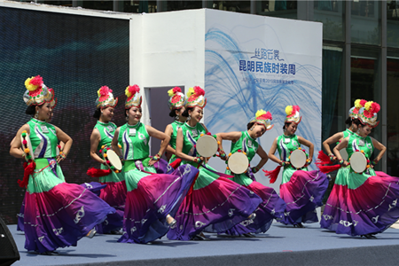 Ethnic fashion week held in Kunming