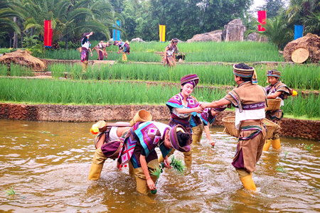 Ethnic festival celebrated at Yunnan Nationalities Village