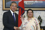China, Nepal pledge to further promote bilateral relations