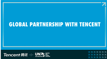 UN works with Tencent to hold online conversations for its 75th anniv.