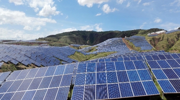 Clean energy powers poverty relieve in Yuanmou