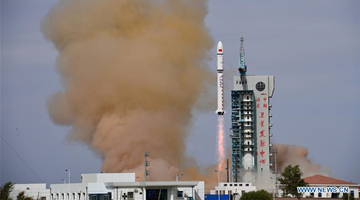 China sends two satellites into planned orbit