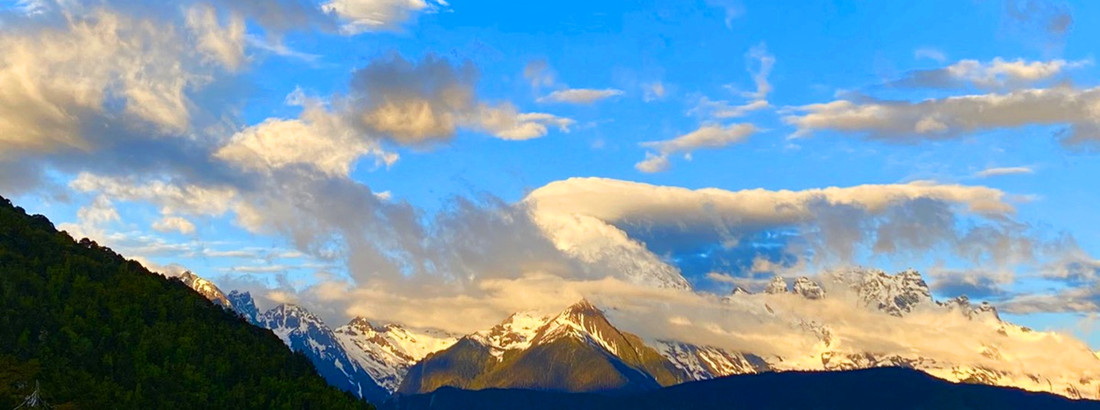 Sunrise over Meili Snow Mountain in Diqing, NW Yunnan