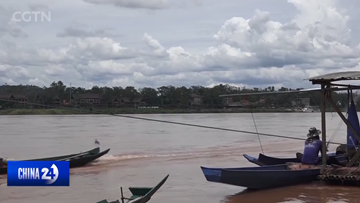 China and countries on the Mekong battle severe drought