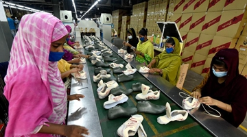 Chinese shoemaker brings jobs, better life to Bangladeshi villagers